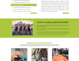 AhmedAmoun tarafından Design a Cycling Club Website Mockup için no 10