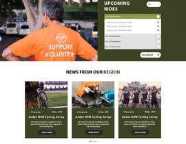 rajchoudhary265 tarafından Design a Cycling Club Website Mockup için no 11