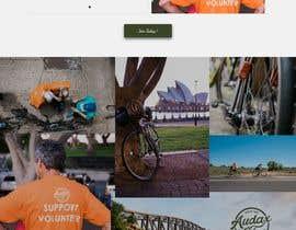 webdevanuj tarafından Design a Cycling Club Website Mockup için no 20