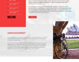 saidesigner87 tarafından Design a Cycling Club Website Mockup için no 29