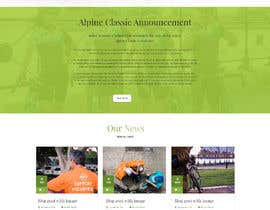 amrapalikamble tarafından Design a Cycling Club Website Mockup için no 19