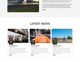 dipankarmaikap77 tarafından Design a Cycling Club Website Mockup için no 16
