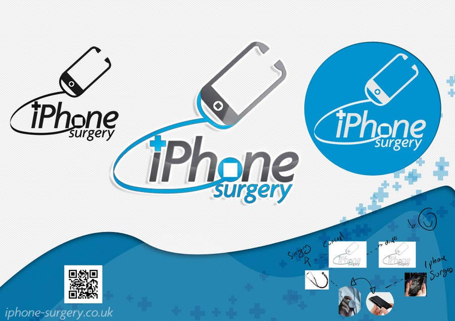 Contest Entry #243 for Logo Design for iphone-surgery.co.uk