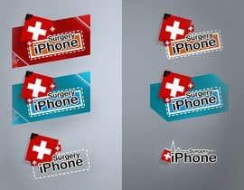 #55 para Logo Design for iphone-surgery.co.uk por dombyto