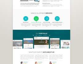 Nro 10 kilpailuun Design a Website Mockup for Web developer company käyttäjältä yasirmehmood490