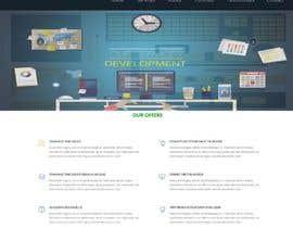 Nro 15 kilpailuun Design a Website Mockup for Web developer company käyttäjältä lucymacro