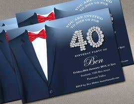 #82 for Design 40th Birthday Invitation by adesign060208