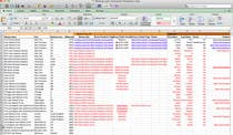 Data Entry Entri Peraduan #7 for Fill in a Google spreadsheet with Data