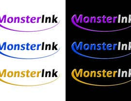 nº 193 pour Logo Design for Monster Ink par malakark