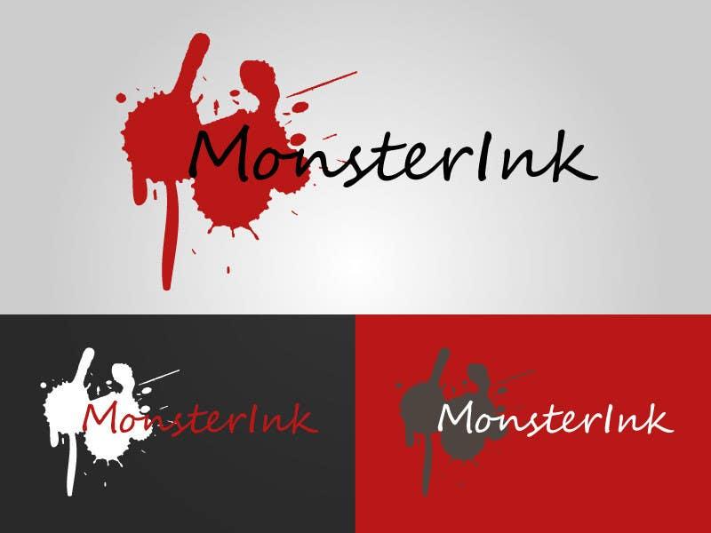 Inscrição nº                                         190                                      do Concurso para                                         Logo Design for Monster Ink