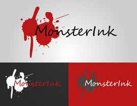 nº 190 pour Logo Design for Monster Ink par clairol