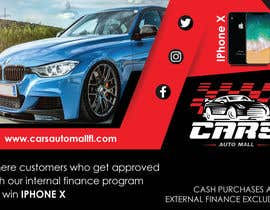 #10 for Create a promotion ad. artwork for Cars auto mall Florida af parulgupta549