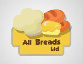 #103 para Logo Design for All Breads Limited por macropaks