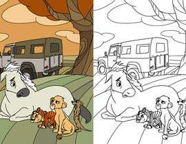 Nro 15 kilpailuun Illustration for kids story book käyttäjältä LeonardoLLB