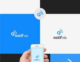 nº 354 pour Logo design for NotifVia notification platform par andigitalart