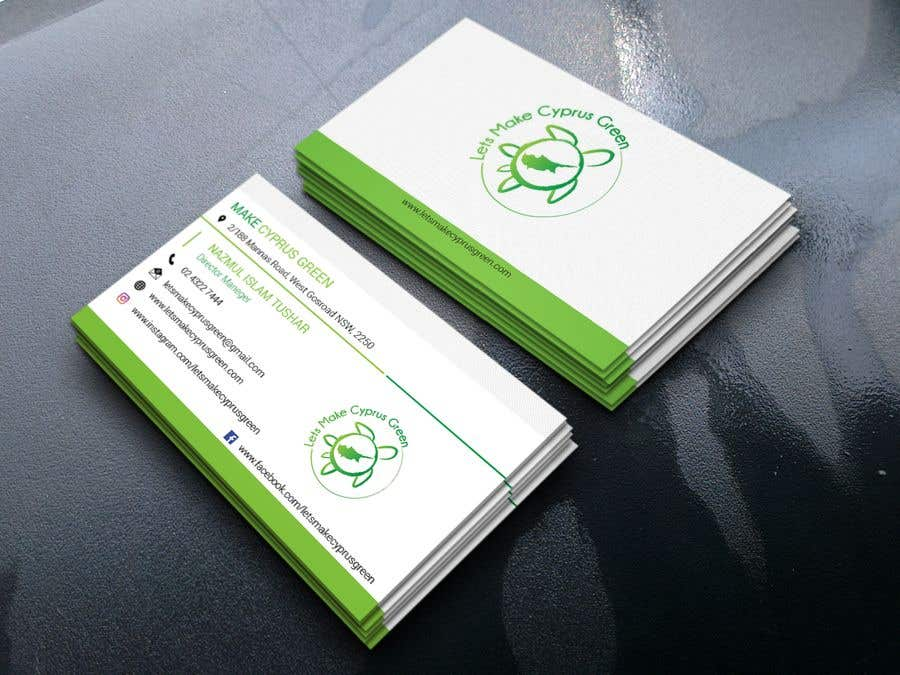 Entry #54 by nazmultushar133 for Business Card Design For Eco ...