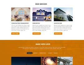 Nro 21 kilpailuun Design a Website Mockup for Solar Protection - Homepage Only käyttäjältä Mithuncreation