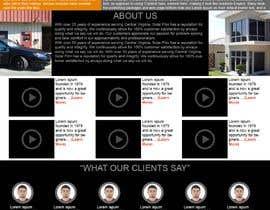 Nro 3 kilpailuun Design a Website Mockup for Solar Protection - Homepage Only käyttäjältä afrazilyas