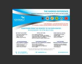 #57 per Design a one page sales brochure for Ghekko - a technology company da miroxi