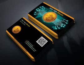 #136 для Design Business Cards for Bitcoin Company від TanvirGrDes