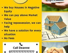Nro 7 kilpailuun Design a Flyer for Sell my house fast käyttäjältä AliHasan23