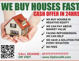 Nro 18 kilpailuun Design a Flyer for Sell my house fast käyttäjältä amcgabeykoon