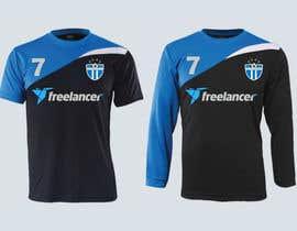 #18 for Design a football/soccer jersey for Freelancer's indoor soccer team af vince198