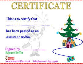 #7 cho Christmas Certificates bởi rashibajaj