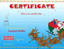 #20 cho Christmas Certificates bởi creativetigers32