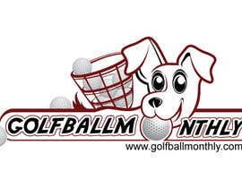 #65 para Logo Design for golfballmonthly.com por royind