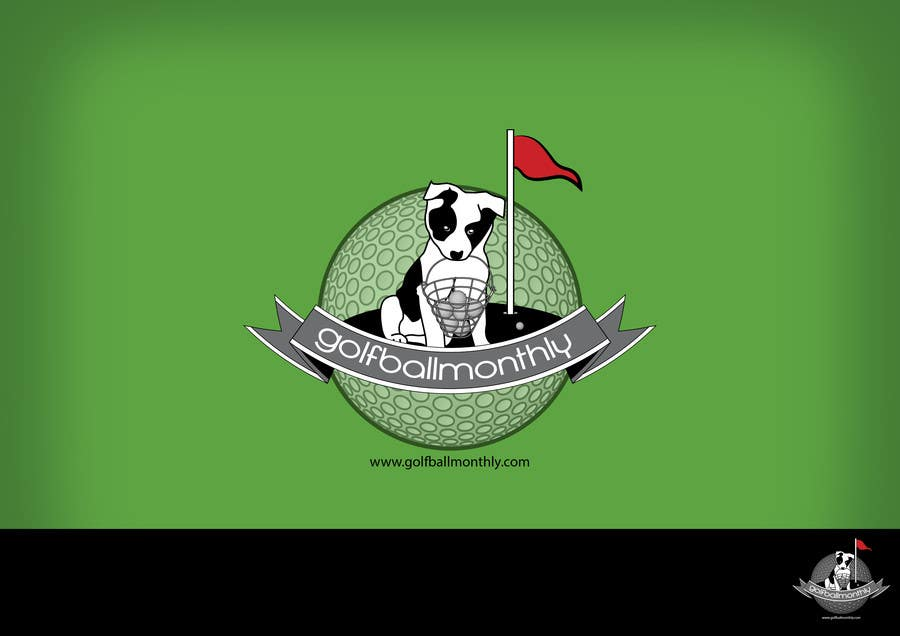 Konkurrenceindlæg #125 for Logo Design for golfballmonthly.com