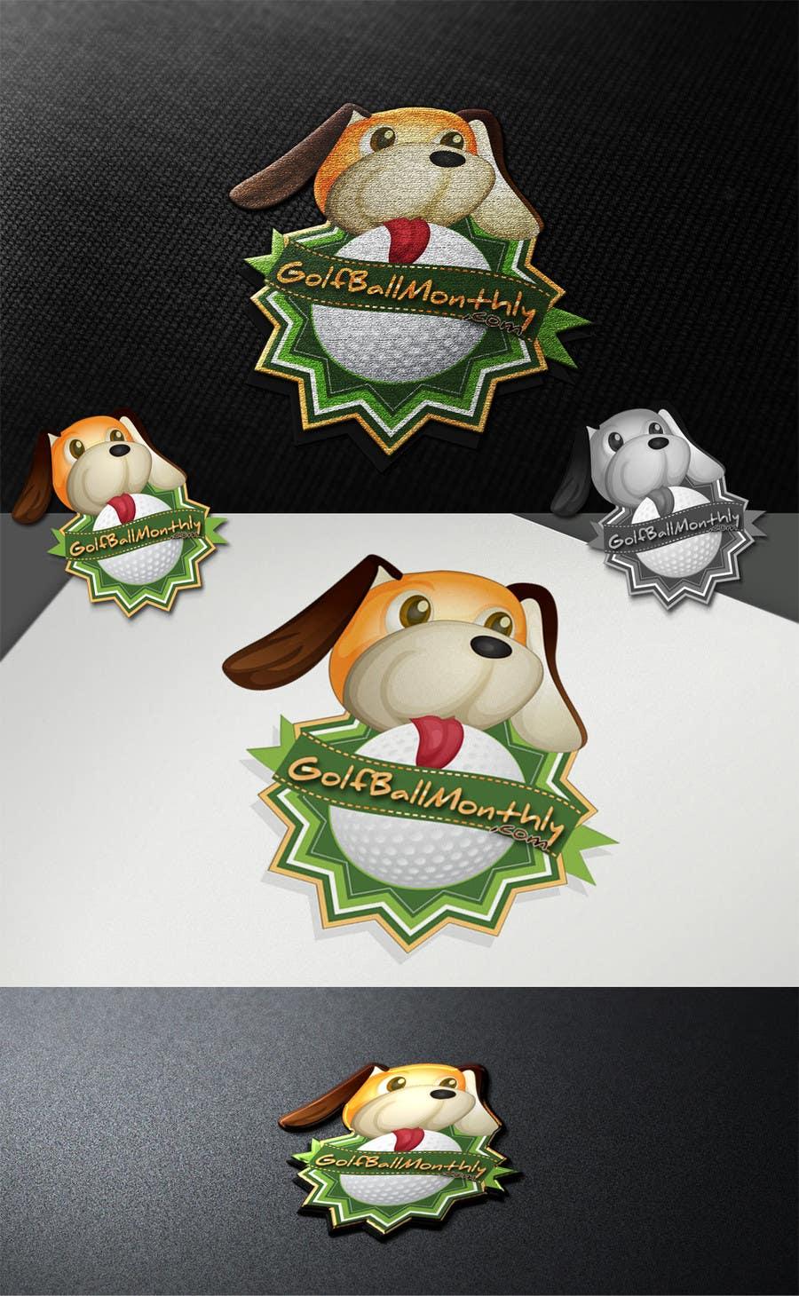 Konkurrenceindlæg #160 for Logo Design for golfballmonthly.com