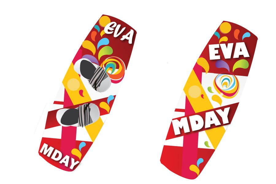 Contest Entry #23 for Graphic Design for MDAY KITEBOARDS www.m-day.ru