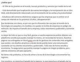 alineperezblanc tarafından Necesito un articulo para proponer un servicio için no 26