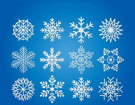 #8 for Design 3 snowflakes by mehfuz780