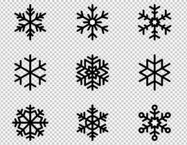 #3 für Design 3 snowflakes von hemotim