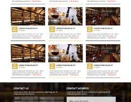 #47 for Create a website design for a whiskey bar by WebCraft111