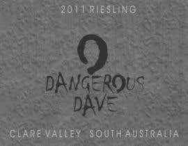 #37 para Wine Label for Dangerous Dave por digimarck