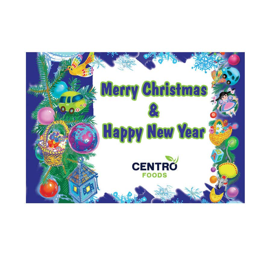 Entry #178 by kinopava for Merry Christmas and Happy New Year cards ...