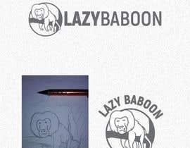 #92 untuk Lazy Baboon - Logo Contest oleh Bebolum