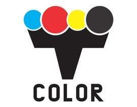 """#187 for design logo for printing company """"T COLOR"""" af venky9291"""