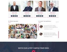 hama001 tarafından Design One Page for MBA Site için no 21