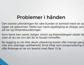 #21 for Presentasjon av et prosjekt for investorer og kunder by aku59a7abbbb1f0e