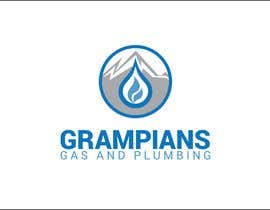 #41 for Plumbing Logo designed like the example ill upload with the mountains in background and a flame/drop symbol but am open to other ideas. Business name Grampians Gas and Plumbing. af iakabir
