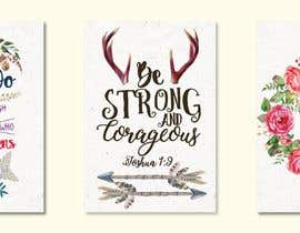 nº 42 pour Recreate these 3 design quotes par kimuchan