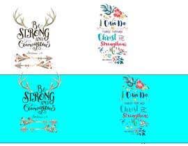 nº 68 pour Recreate these 3 design quotes par guessasb