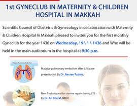 nº 2 pour Design a Brochure for 1st GyneClub In Maternity & children hospital in Makkah par xdkhacker
