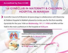 nº 3 pour Design a Brochure for 1st GyneClub In Maternity & children hospital in Makkah par xdkhacker