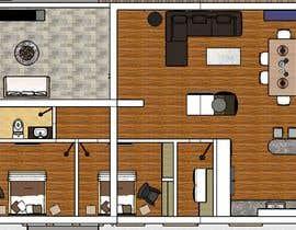 #63 untuk Design my countryside apartment oleh RENEDIAZCAD