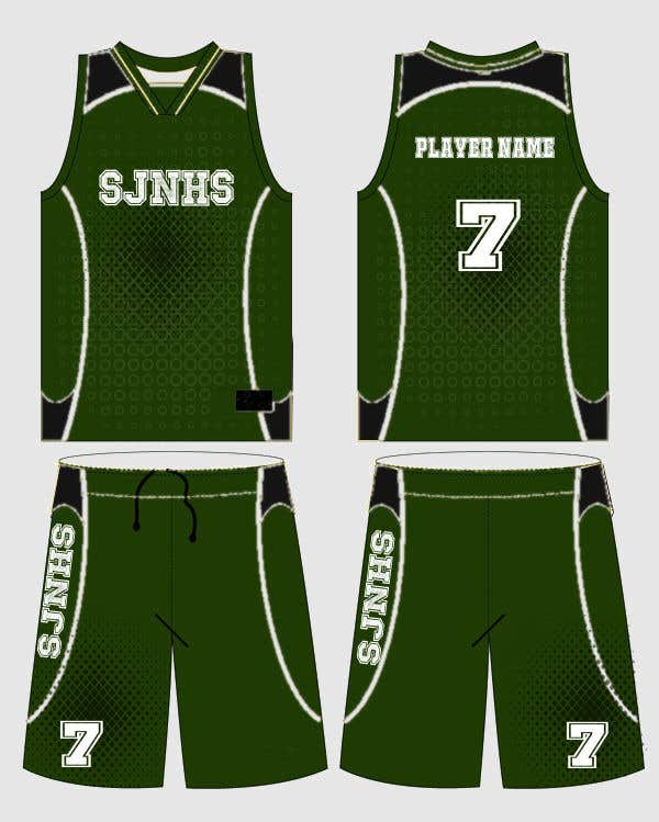 811866b0291 Entry  22 by hichamalmi for DESIGN FOR OUR BASKETBALL UNIFORM ...